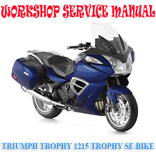 TRIUMPH TROPHY 1215 & TROPHY SE BIKE WORKSHOP SERVICE MANUAL (DIGITAL e-COPY)