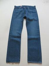 Levi's® 501 Jeans Hose, W 38 /L 34, NEU ! Faded Washed Denim Klassiker: Knöpfe !