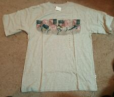 Lanesboro Sailfish & American flag, Men's T shirt, S. Md.