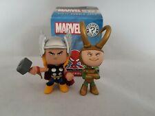 Marvel Funko Mystery Minis Series 1 Thor And Loki Vinyl Bobbleheads