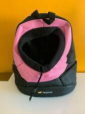 Small Dog Puppy Backpack Rucksack Carry Bag Breathable Pink