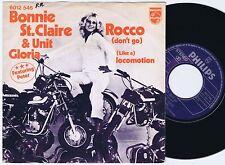 BONNIE ST. CLAIRE + UNIT GLORIA Rocco Dutch 45PS 1975 Glam Rock Motorcycle