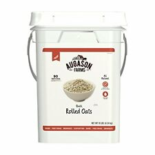 Augason Farms Quick Rolled Oats Emergency Food Storage 10 Pound Pail NEW HOT