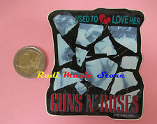 ADESIVO STICKER GUNS N ROSES 7X9 CM (*) no cd dvd lp mc vhs promo live