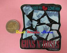 ADESIVO STICKER GUNS N ROSES 7X9 CM (*) no cd dvd lp mc vhs promo live