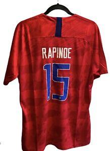 Nike Team USA Soccer Number 15 Rapinoe Jersey Mens T-Shirt - Size XL