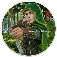 2019 Austria Robin Hood 1 Ounce Silver and Colorized!