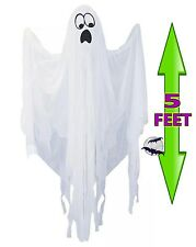 New Life Size Hanging Skeleton Ghost Halloween Haunted House Decoration Prop