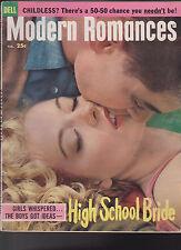 Modern Romances February 1959 High School Bride