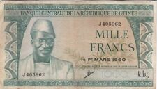 GUINEE : 1000 FRANCS 1960 - P.15