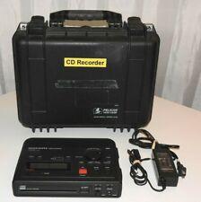 MARANTZ CDR-310 CD HD RECORDER PLAYER PORTABLE WITH PELICAN CASE! BEAUTIFUL!