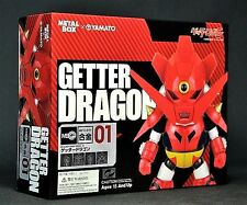 YAMATO CHOGOKIN METAL BOX 01 GETTER DRAGON NEW