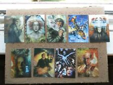THE X-FILES Trading Cards - SPECIALS - CHASE CARD SET JOB  LOT 2 Topps TV FILM