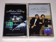 Modern Talking 2 x Cassette Tapes Brand New Sealed Thomas Anders Dieter Bohlen