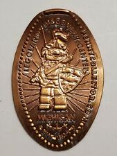 Legoland Discovery Center Knight Michigan Pressed Penny Smashed Elongated