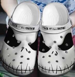 Jack Skellington Face , Crocs Crocband Clog - Clog comfortable