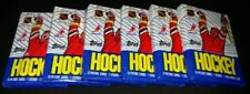 1989 TOPPS HOCKEY WAX PACK - 6 PACK LOT