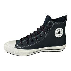 Converse Ctas Boot Hi Chuck Taylor All Star Black Egret Nubuck Shoes Mens 9.5