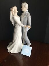 "NEW ROMAN,INC PORCELAIN ""FIRST DANCE ""THE VALENCIA FIGURINE Or CAKE TOPPER"