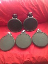 Free P&P. A Set Of 5 Roland PD-6 Pads for Electronic Drum Kit.
