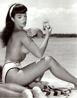 Bettie Page Classic Beauty 8x10 Sexy Photo #32 Pin up