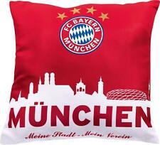FC Bayern München Kissen Mein Stadt-Mein Verein Größe 40x40 cm TOP!!!