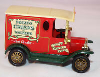 LLEDO PROMOTIONAL 1920 FORD MODEL T VAN POTATO CRISPS BY WALKERS