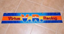 "VIRTUA RACING ""MARQUEE"" ~ V.R. ARCADE GAME ~ 32 1/2"" X 6"" ~ USED, OEM  (#2)"