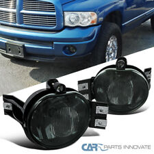 02-08 Dodge Ram 1500/2500/3500 04-06 Dodge Durango Smoke Fog Lights Pair+Switch