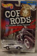 Hot Wheels Cop 67 Corvette Hartford, CT Series 2 2000