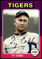 Ty Cobb 2019 Topps Archives 5x7 #136 /49 Tigers