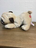 Keel Toys Pugsley 27cm Length Pug Dog Cuddly Soft Toy Puppy Plush Fab Gift