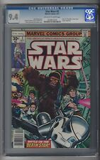 Star Wars #3 CGC 9.4 NM Marvel Comics 9/77 A New Hope Pt 3 Luke Han Leia Chewy