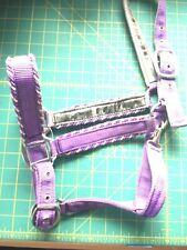 Horse Head Harness Halter  Lavender  Unbranded