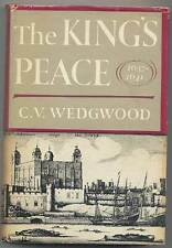 C V WEDGWOOD / The King's Peace 1637-1641 The Great Rebellion First Edition 1958