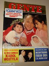 GENTE=1981/23=LOGGIA P2=RAFFAELE CUTOLO=DAVID SOUL=SCANDALETTI=MARINA VLADY=