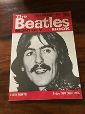 RARE 1968 THE BEATLES MONTHLY BOOK #55