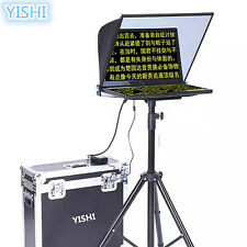 """YISHI 20"""" Folding Portable Teleprompter for Interview Conference Speech Studio"""
