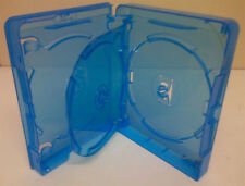 1 Genuino 4 disco Multi Amaray BLURAY DVD Case 24mm
