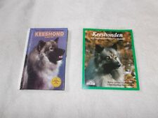 Keeshonden Owner's Manual Barron's and Keeshond by Martin Weil 2 Books