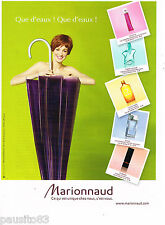 PUBLICITE ADVERTISING 065  2010  MARIONNAUD  parfums