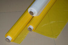 "3 Yards 250 Mesh Silk Screen Printing Mesh Fabric 100T Yellow Color Width 50"""