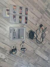 Super Nintendo Entertainment System Grau Spielekonsole