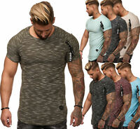 T-Shirt Shirt Kapuzenshirt Strick Kurzarm Herren