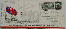 RHODESIA 1943 CENSORED MATABELELAND FIRST DAY COVER TO COMFORTS FUND AUSTRALIA