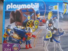 Playmobil - 3314 - Prince, convoi et trésor
