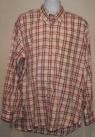 Peter Millar Mens Size Extra Large XL Long Sleeve Button Down Shirt Plaid