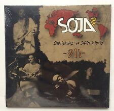 "SOJA Soldiers Of Jah Army ""911"" EP CD - Reggae Brand New Sealed (2003) - Rare!"