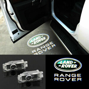 For Range Rover LED Door Courtesy Laser Projector Shadow Light Puddle Lamp Logo