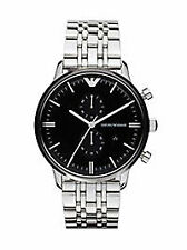 Emporio Armani Armbanduhren aus Edelstahl mit Glanz-Finish für Herren